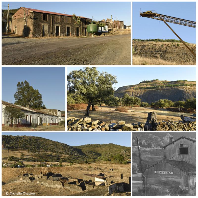 Minas de Cala. The Cala Mines, Huelva © Michelle Chaplow
