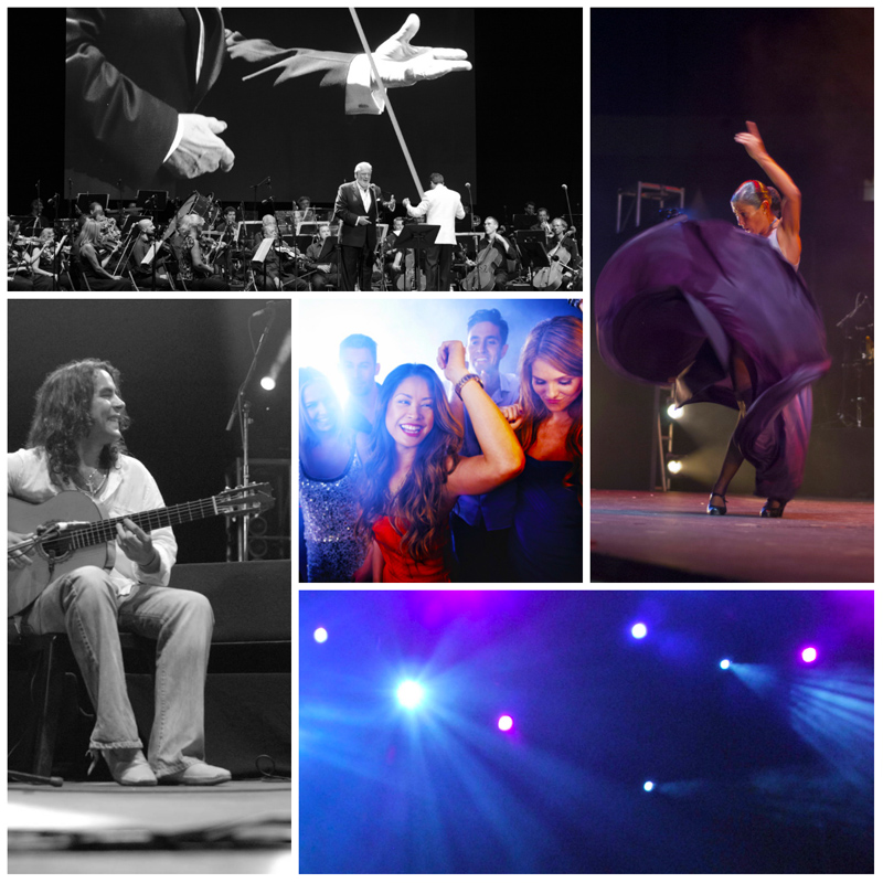 Classical Music, Flamenco & Pop. Andalucia has it all © andalucia.com