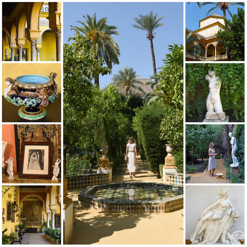 Palacio de Dueñas, Seville © Michelle Chaplow