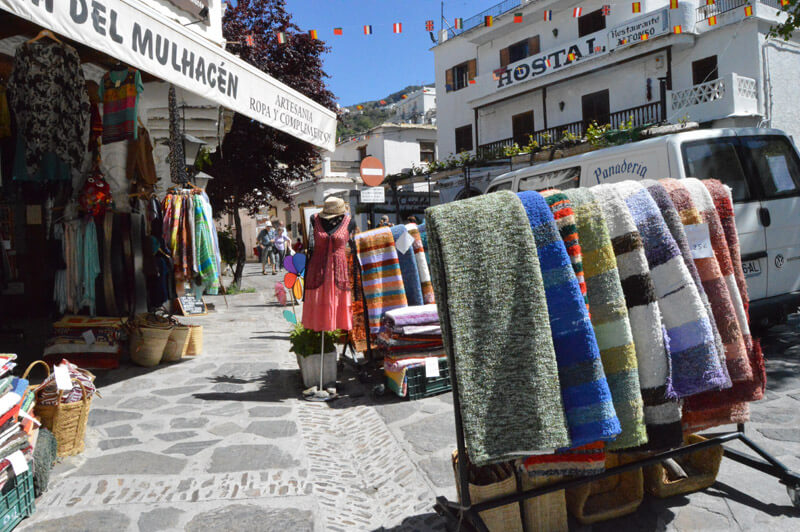 Local handmade rugs are common in Pampaneira © Barcley Spicer-Jenkins