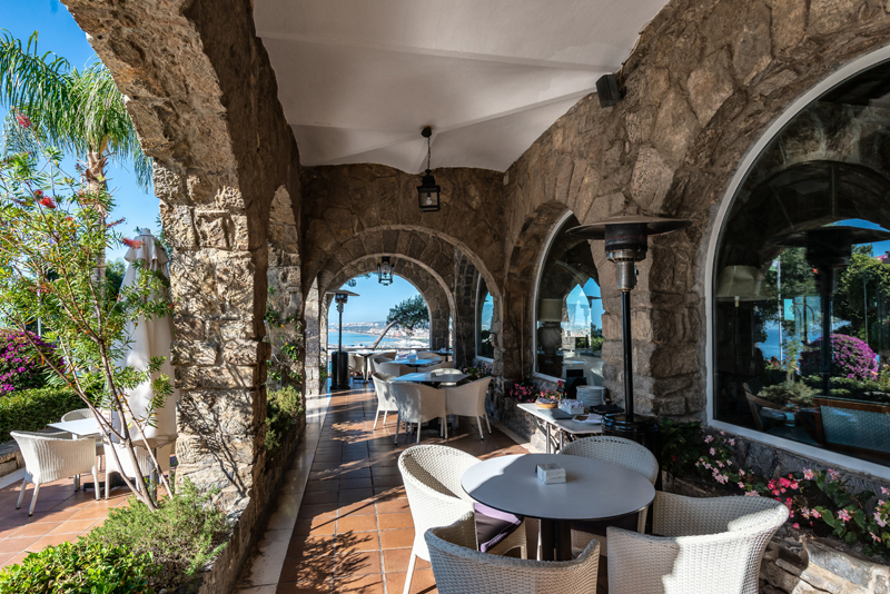 This Parador is a lovely place to stay and enjoy a meal