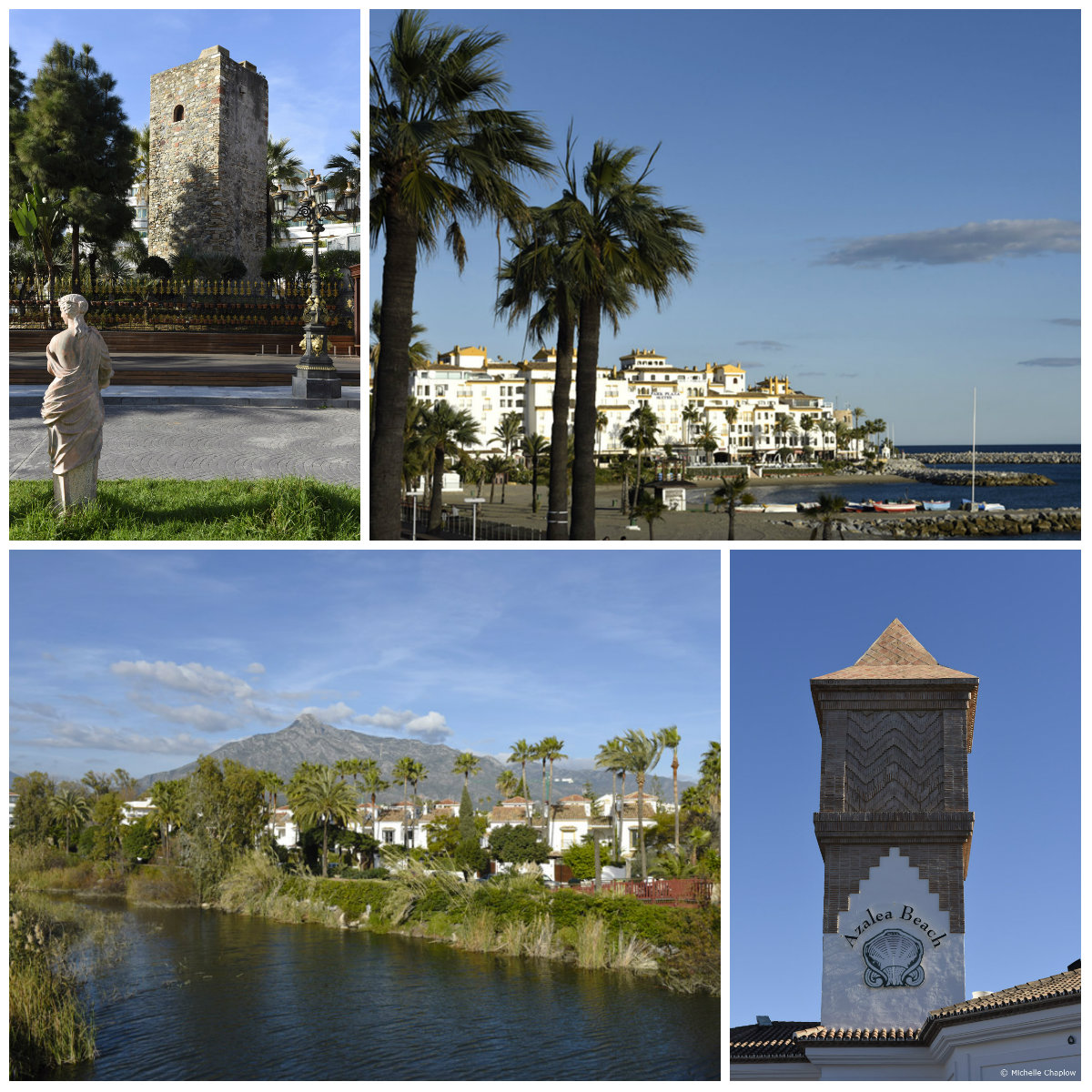 Amazing views in Puerto Banus (click to enlarge image).