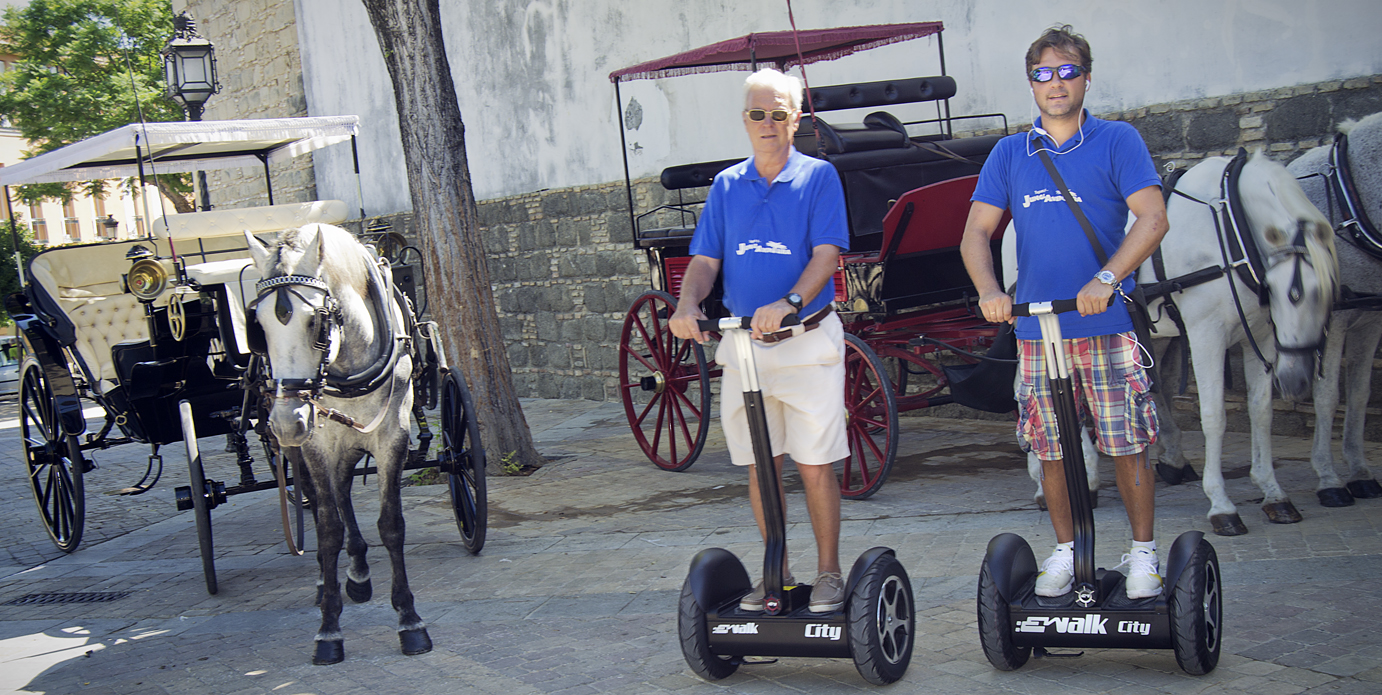 Segways in Jerez © Segways Guided Tours