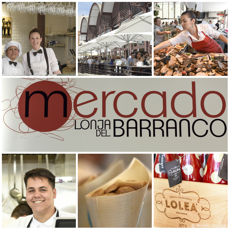 Lonja Del Barranco Food Market in Seville, Andalucía.  © Michelle Chaplow