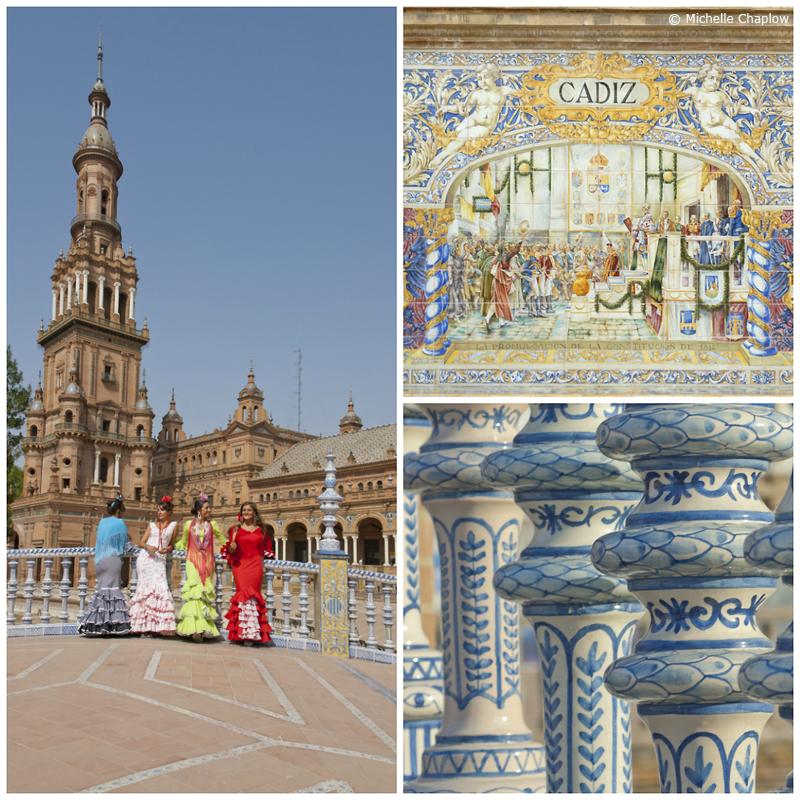 Plaza de España, Seville © Michelle Chaplow
