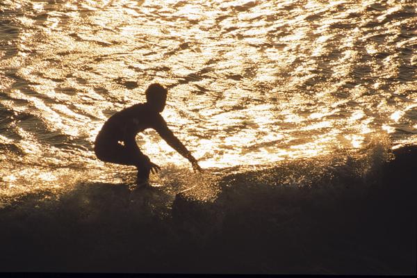 Surfing in Tarifa  © Michelle Chaplow