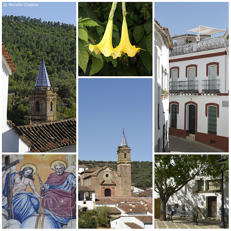 The quaint white village of Valdelarco © Michelle Chaplow