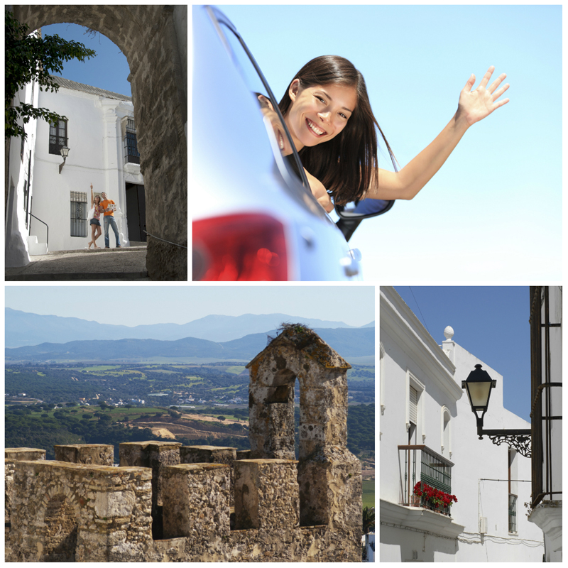 Getting to Vejer de la Frontera Photos © Michelle Chaplow and  ©istockphoto