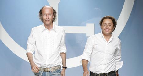 Fashion Designers Victorio & Lucchino