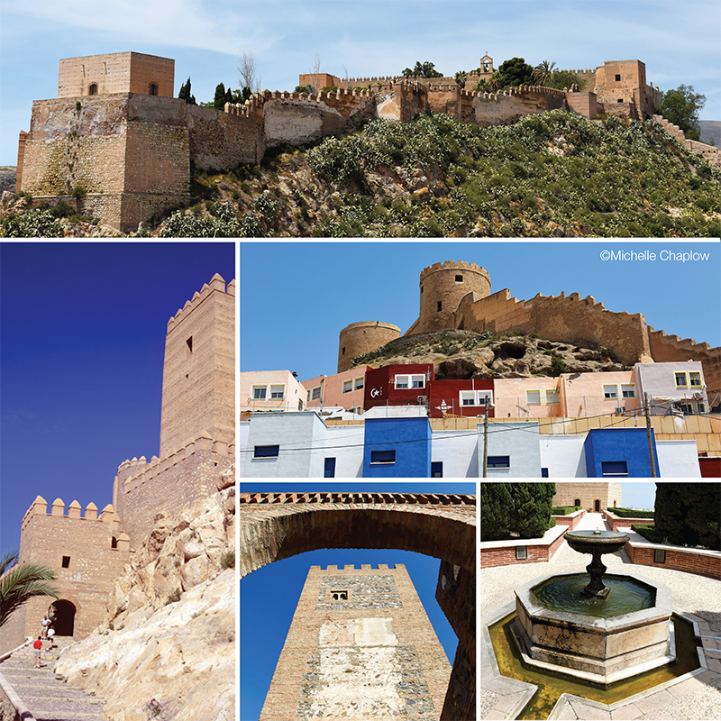 The Alcazaba of Almeria © Michelle Chaplow