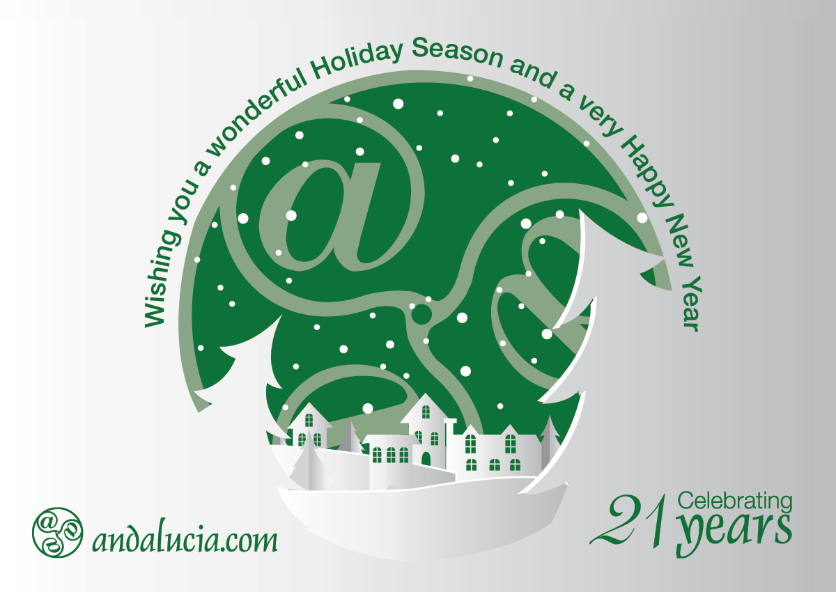 Wishing you a wonderful Holiday season and a very Happy New Year.