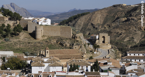 The historic town of Antequera © Michelle Chaplow