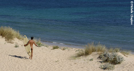 Andalucía is the autonomous community with the most kilometres of nudist beach © Michelle Chaplow