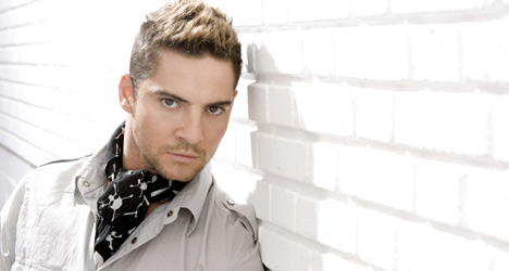 Singer-songwriter David Bisbal, Originally from Almería