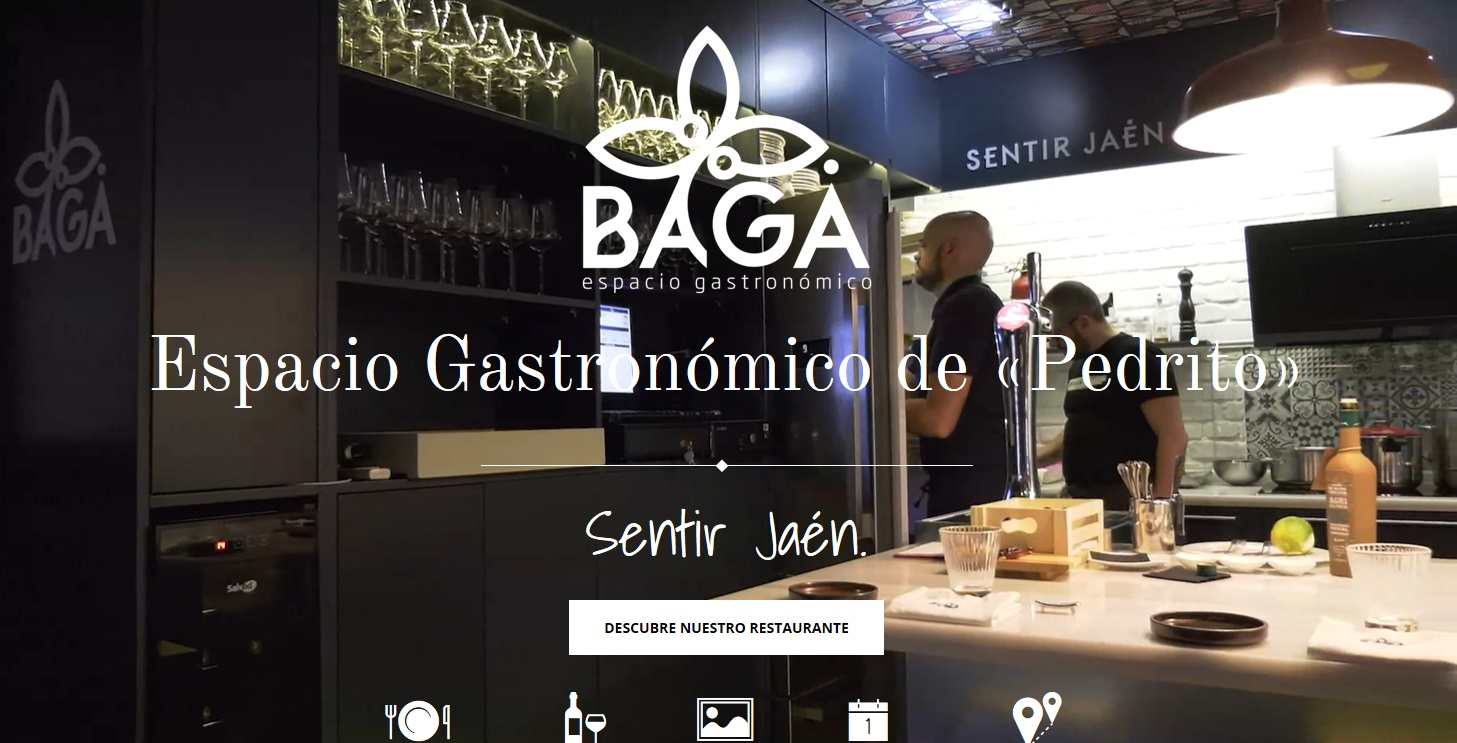 Bagá is an intimate restaurant in Jaén.