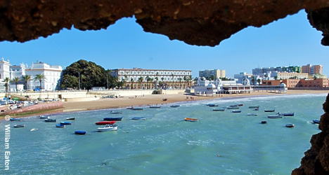 Cadiz was a favourite victim of attack by many of England´s most famed pirates