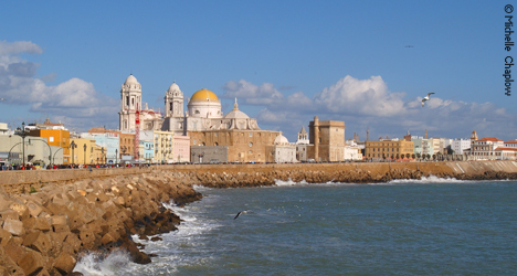 Cadiz´s name and reputation is linked with its maritime adventures © Michelle Chaplow