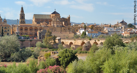 The monumental city of Cordoba on the banks of the river Guadalquivir © Michelle Chaplow
