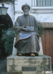 Statue of Moor Philosopher Maimónides