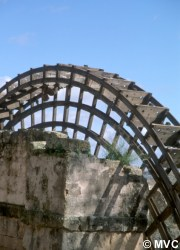 A reconstruction of the waterwheel