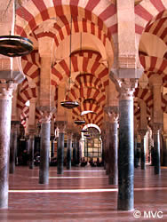 The arches of the Mosque ©Michelle Chaplow