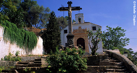 © Michelle Chaplow Sacromonte Cross and Church 109626.