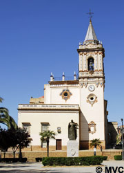The Chruch of San Pedro, Huelva