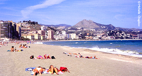 Beaches In Malaga City