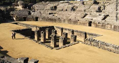 © MVC Italica was the first Roman city in Spain