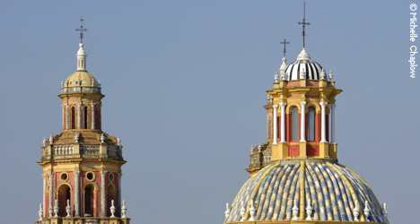 The Convents and Monasteries of Seville © MIchelle Chaplow