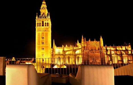 Seville Hotel Eme Catedral 5 Star Hotel The City Of