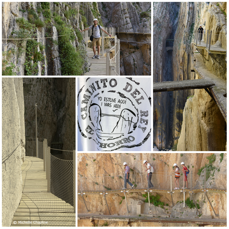 The Caminito del Rey, The King´s path © Michelle Chaplow