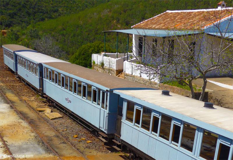 Los Frailes Railway Station, Rio Tinto.