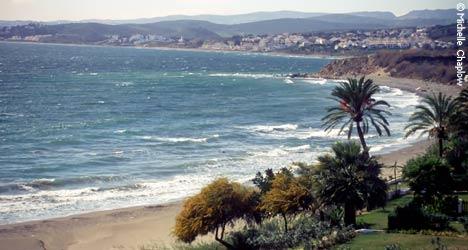 Playa Bermeja, Estepona ©Michelle Chaplow