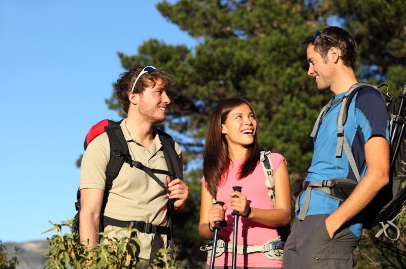 Friends hiking © iStock