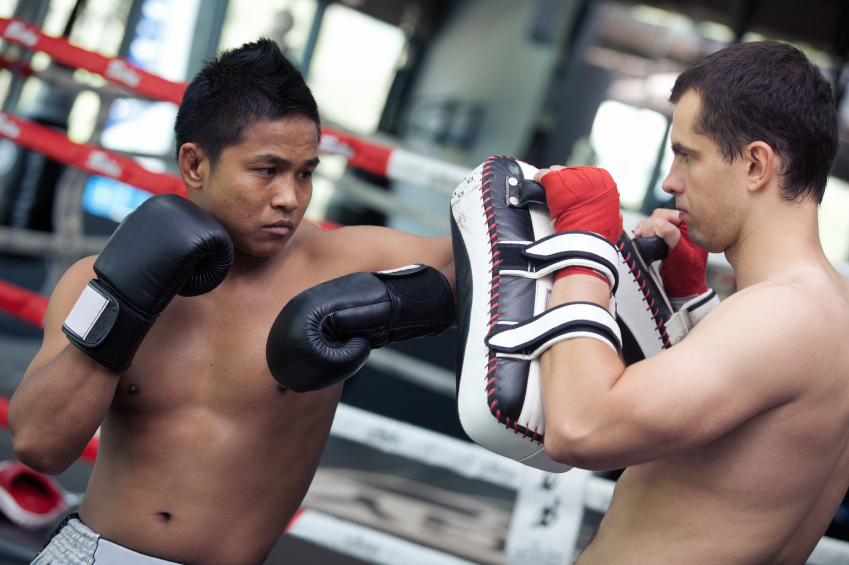 Boxing at the gym © iStock