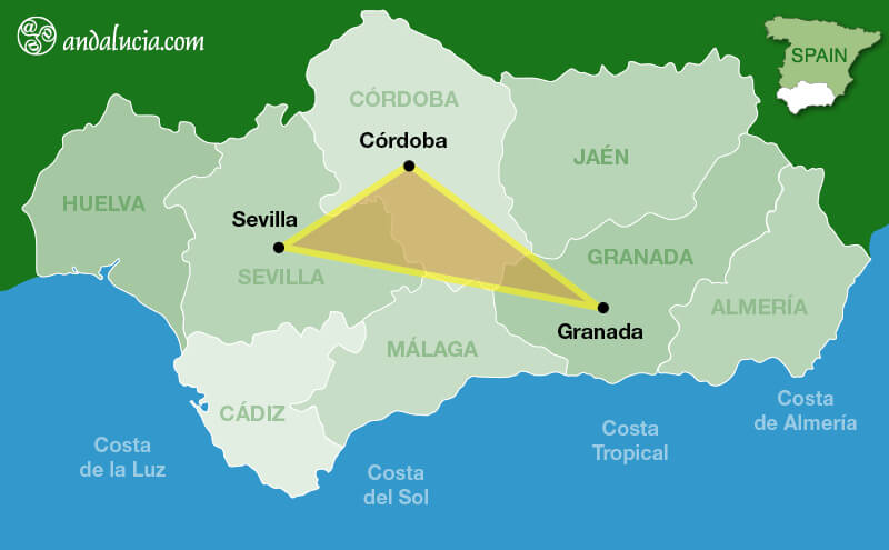 Golden Triangle of Andalucia
