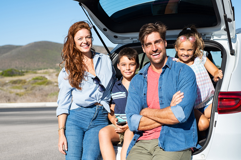 Family trip in Andalucia © istock photo