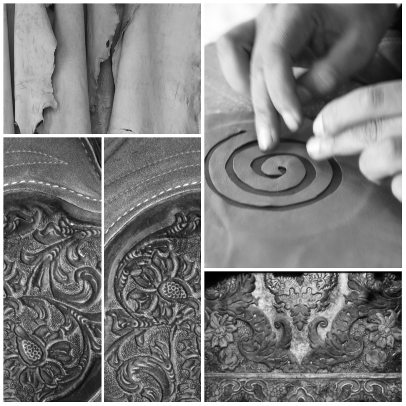 Leather work ©istock bottom left all the other images Michelle Chaplow