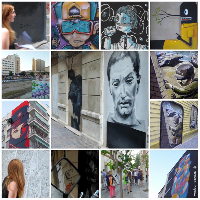 Street Art in Soho Malaga © Michelle Chaplow