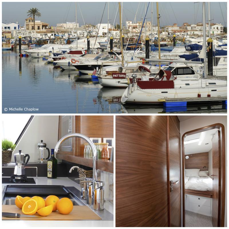 The Marina of Isla Canela, Ayamonte, Huelva © Michelle Chaplow