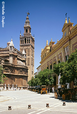 © Michelle Chaplow Seville is a fantastic base to explore Andalucia.