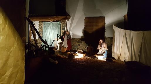 Around the pueblo - Linares Live Nativity ©Saskia Mier