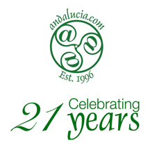 Andalucia.com is delighted to celebrate its 21st birthday.