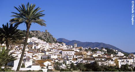 © Michelle Chaplow Gaucin is one of those white villages that are great to visit at anytime of the year.