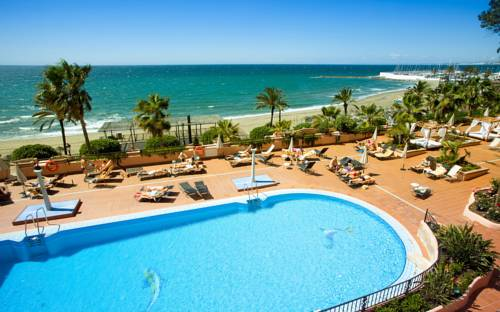 Hotel Fuerte Marbella on the Andalucian coast line