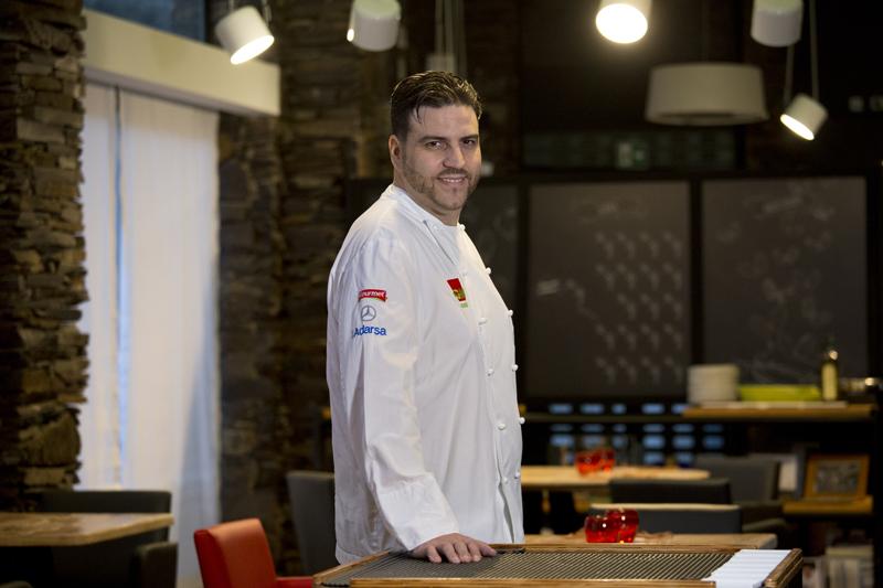 Chef Xanty Elías ©Restaurante Acanthum