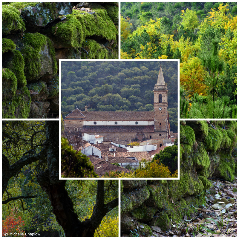 Autumn in the white village of Alájar, Sierra de Aracena. © Michelle Chaplow (Click to enlarge photos) ©Michelle Chaplow