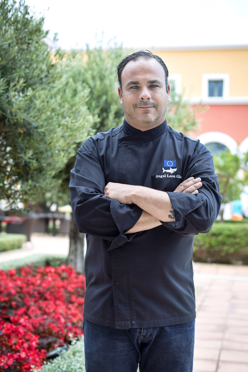Chef Ángel León ©Alevante
