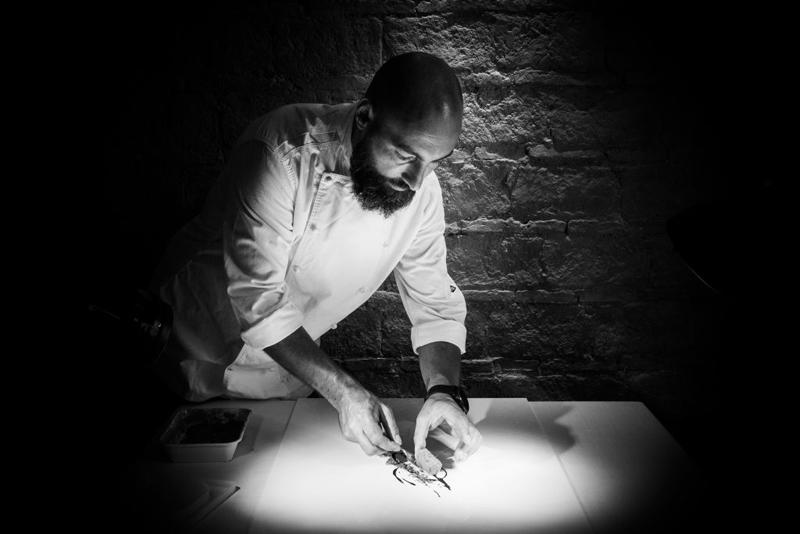 Chef Benito Gómez ©Restaurante Bardal